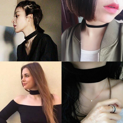 Basic Thin / Thick Choker Necklace