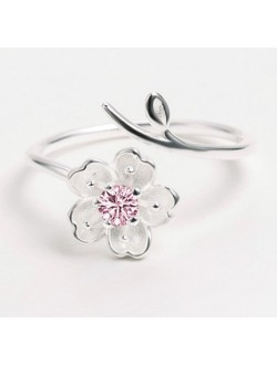 Pink Diamond Sakura Ring