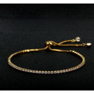 Subtle Drop Crystal Bracelet