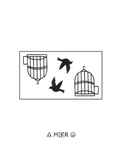 Birds born in a Cage