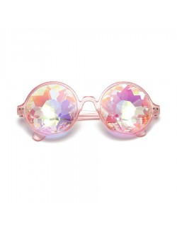 Round Shaped Kaleidoscope Glasses