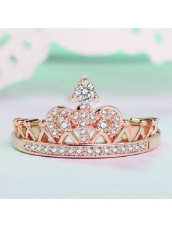 Distinctive Crown Ring