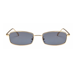Retro Palabra Rectangle Shaped Sunglasses