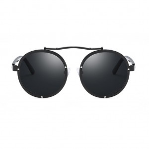 Vintage Steampunk Round Shaped Unisex Sunglasses