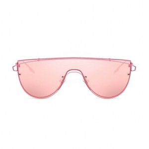Zhora One Piece Flat Top Sunglasses