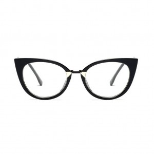 Orchidea Zigzag Leg Cat Eye Glasses