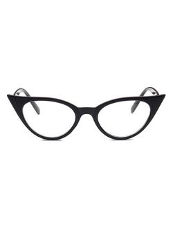 Rockabilly Pointy Sharp Cat Eye Glasses