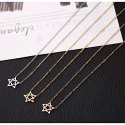 Star Overlap Necklace