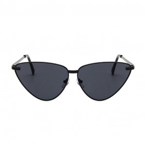 Luxe Nero Cat Eye Sunglasses