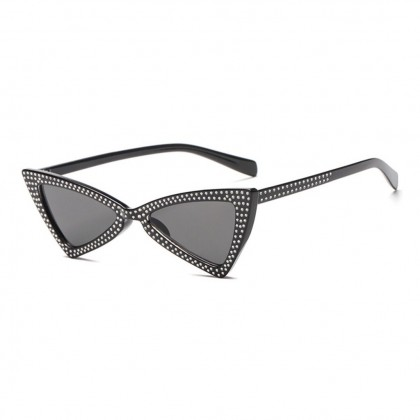 Jerry Bow Tie with Crystal Sunglasses