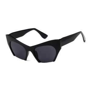 Rasoir Cutoff Semi Rimless Cat Eye Sunglasses