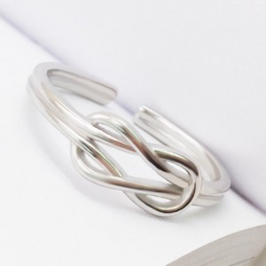 Double Rope Knot Ring