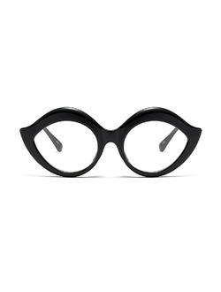Lips Cat Eye Glasses