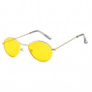 Cobalt Water Drop Shaped Unisex Sunglasses