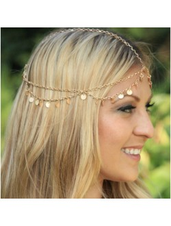 Mini Sequins Head Chain Hair Chain