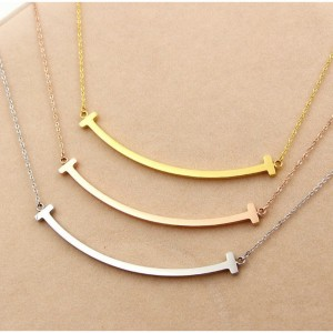T Smile Necklace