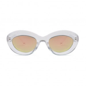 Fluxus Oval Shaped Sunglasses