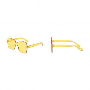 Color One Piece Sunglasses