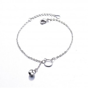 Little Kitty Cat Drop Bell Bracelet