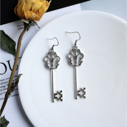 Bohemian Key Earrings