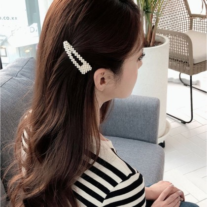 Fashion Mini Pearl Hair Clip