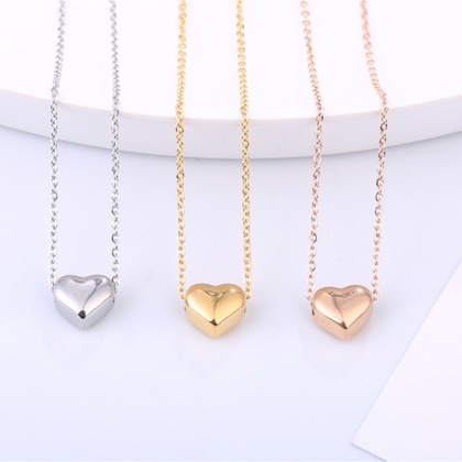 Classic Heart Shaped Necklace
