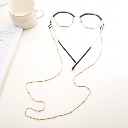 Snake Bone Chain with Metal Copper Bead Chain Sunglasses Chain Glasses Chain Eyewear Chain