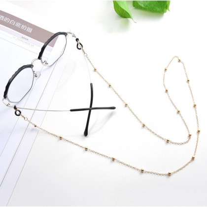O Shape Chain with Metal Copper Bead Chain Sunglasses Chain Glasses Chain Eyewear Chain