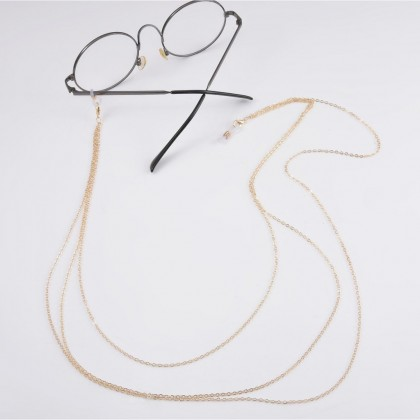 Triple Layered Eyewear Chain Sunglasses Chain Glasses Chain