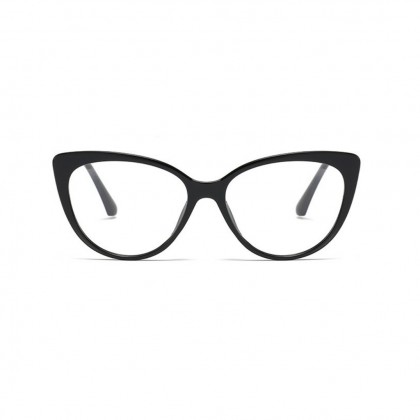 Personality Temperament Black Frame / Clear Frame Cat Eye Glasses