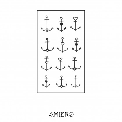 Temporary Tattoo - Anchor with Love