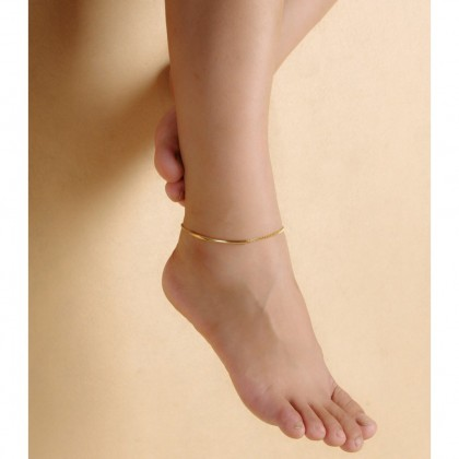 Curved Bar Anklet